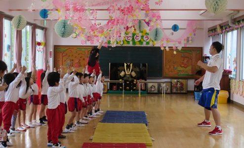 年中児さんの新しい教育プログラムがはじまりました。
